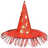 ハロウィン仮装パーティードレスアップ魔女の帽子ティップキャップコスプレパーティーの装飾-A4