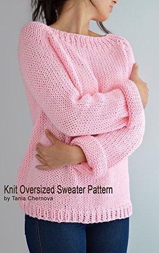 Fairy Kei Sweater Pattern Oversized Sweater Pattern Easy Knit