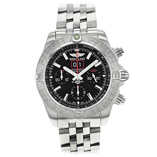ブライトリング BREITLING ブラックバード 自動巻 メンズ 腕時計 A4436010BB71371A