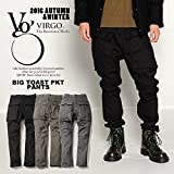ヴァルゴ VIRGO Big toast pkt pants CHARCOAL 2