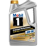 Mobil 1 (120846) Extended Performance 5W-30 Motor Oil - 5 Quart (1, Pack)