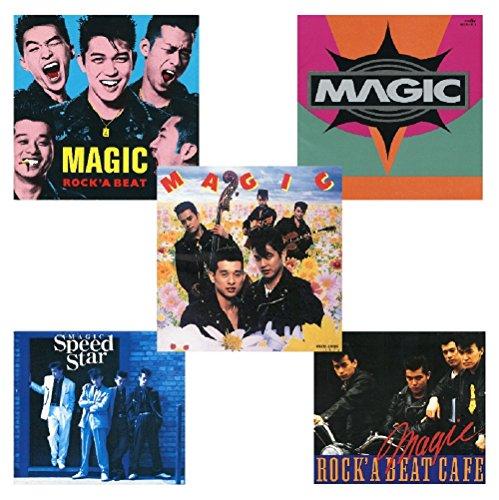 【Amazon.co.jp限定】MAGIC 再発CD5枚セット「ROCK'A BEAT」+「NOWHERE」+「MAGIC」+「Speed Star」+「ROCK' A BEAT CAFÉ」(オリジナル特典:ジャケット柄ポストカード5枚組)