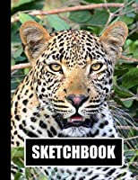 """Sketchbook: Leopard Cover Design 