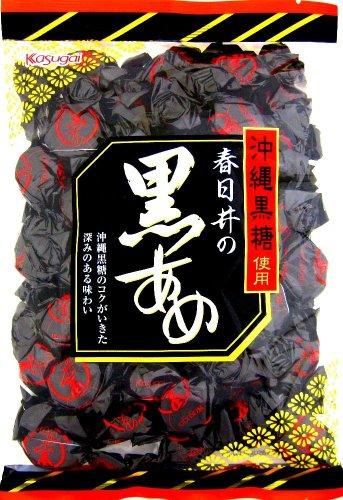 春日井 黒あめ 390g×10袋