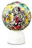 60ピース ジグソーパズル 光る球体パズル パズランタン 美女と野獣 ライン・トーン―ベル―