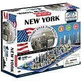 (New York) - 4D Cityscape 40010 4D New York City Skyline Time Puzzle