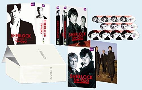 SHERLOCK/シャーロック シーズン1-3 コンプリート Blu-ray-BOXの詳細を見る