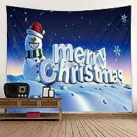 ホーム壁掛けクリスマスタペストリーデコレーションギフト lutingstore (Color : Style3, サイズ : 180x200cm)
