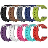 Band for Fitbit Ionic, Soft Silicone Adjustable Replacement Sport Strap Band for Fitbit Ionic Smartwatch (No Tracker)