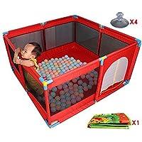 赤ちゃんプレイペン8パネルマットパッド強力でDuable安全なプレイセンターヤードレッドルームディバイダー