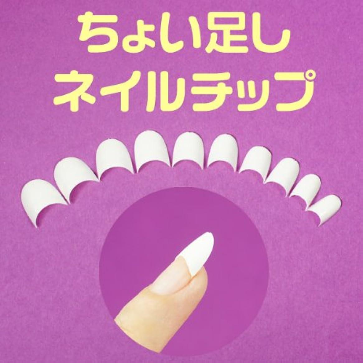 機会二週間キリスト白いちょい足しネイルチップ 超短いハーフチップ スカルプチャー ジェルネイル ラウンドショートクリアネイルチップ つけ爪付け爪