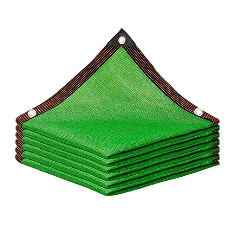 期間影大胆不敵ZHANWEI 日よけ シェード、 暗号化肥厚シェードネット 断熱シェードネット アウトドアガーデン日焼け止めサンシェードネット (Color : Green, Size : 2mx2m)