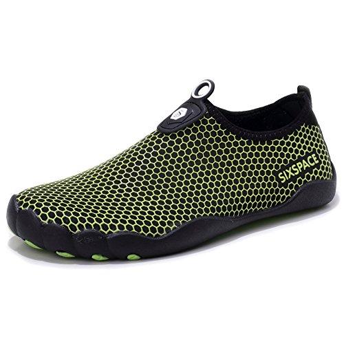 [해외]Sixspace 마린 슈즈 남성 미끄럼 방지 야외 신발 경량 워터 슈즈 속건 통기성 아쿠아 슈즈 요가 헬스 트레이너 수륙 양용/Sixspace Marine Shoes Men`s Non-slip Outdoor Shoes Lightweight Water Shoes Quick-drying Breathable Aqua Shoes Yoga Fi...