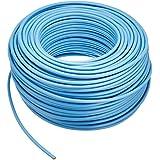 エレコム LANケーブル 100m 自作用 STP(ノイズに強いシールド加工) RoHS指令準拠 CAT5e ブルー LD-CTS100/RS