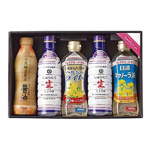 生活食房 NEW家食応援セット 【生醤油 キャノーラ油 ギフト...