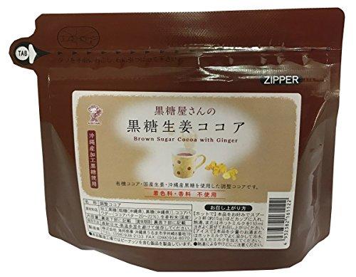 海邦商事 黒糖屋さんの黒糖生姜ココア 120g