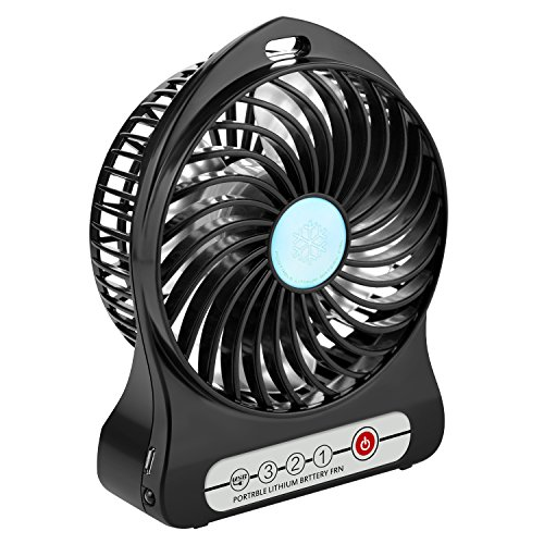 USB扇風機 WERPOWER卓上扇風機 ミニ扇風機 3段階調節 4枚羽根 熱中症対策 静音 卓上扇風機 手持ち扇風機