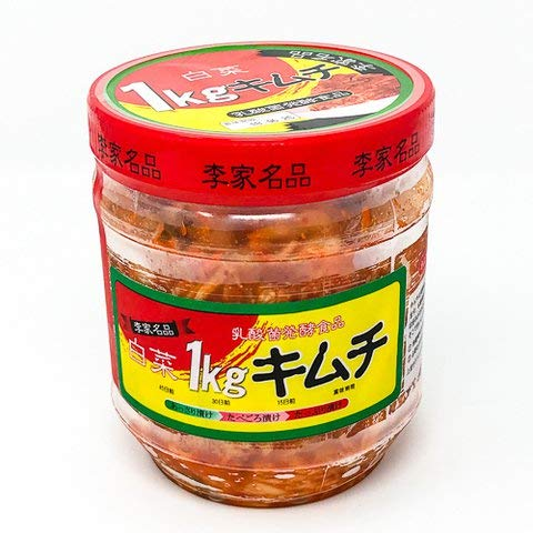 光商 李家名品白菜キムチ 1kg 【冷凍・冷蔵】 5個
