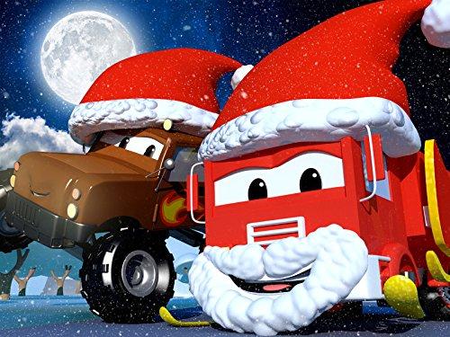 ロケットのロッキーが月の写真を撮りに宇宙旅行!& クリスマス - クリスマスプレゼントがサンタのソリから落ちちゃった!