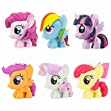 My Little Pony Friendship Is Magic Fash'ems Series 3 Value Pack Toy Figure Set of 6
