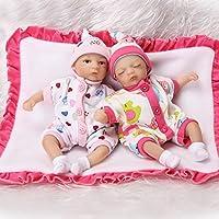 Pursueベビー人形Lifelike Mini Babyツインthat looks real、8インチ手ポケットおもちゃソフトボディCute LittleベビーAlive人形