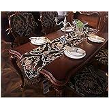 テーブルフラッグ - テーブルクロス、ファブリックホームデコレーション、新しい中国スタイル、テレビキャビネットコーヒーテーブルテーブルクロスシンプルでモダンなファッションテーブルクロス (Size : 35x240cm)