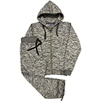 Royal Threads Canada Men's Sweat Fleece Suit Sweatpants Sweat Jacket Top and Bottom Outfit
