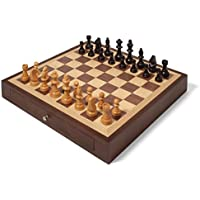 Collector's Edition Chess Set with Walnut & Oak Finish [並行輸入品]