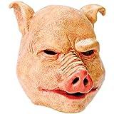 Horror Pig Overhead Animal Mask