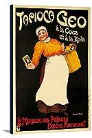 タピオカGeoヴィンテージポスター(アーティスト: Faure )フランスC。1911 16 x 24 Gallery Canvas LANT-3P-SC-61981-16x24