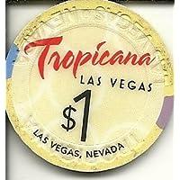 $ 1 Tropicana新しいラスベガスカジノチップ