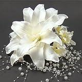 カサブランカ髪飾り6点セット 成人式 結婚式 浴衣