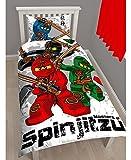 Ninjago ニンジャゴー レゴ LEGO 布団カバー + 枕カバー セット シングル 4110 [並行輸入品]