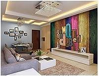 Yosot カスタムのモダンな 3dの壁画の文字文字のベッドルーム、リビングルームホテルデアバーの背景の壁の壁紙-400cmx280cm