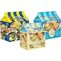 日清 ラ王冷し中華・つけ麺詰め合わせ 3種類 各2袋(5個パック)  1箱:6袋入り