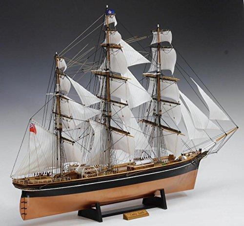 ウッディジョー 1/ 100 カティーサーク 帆付き 木製組立キット B