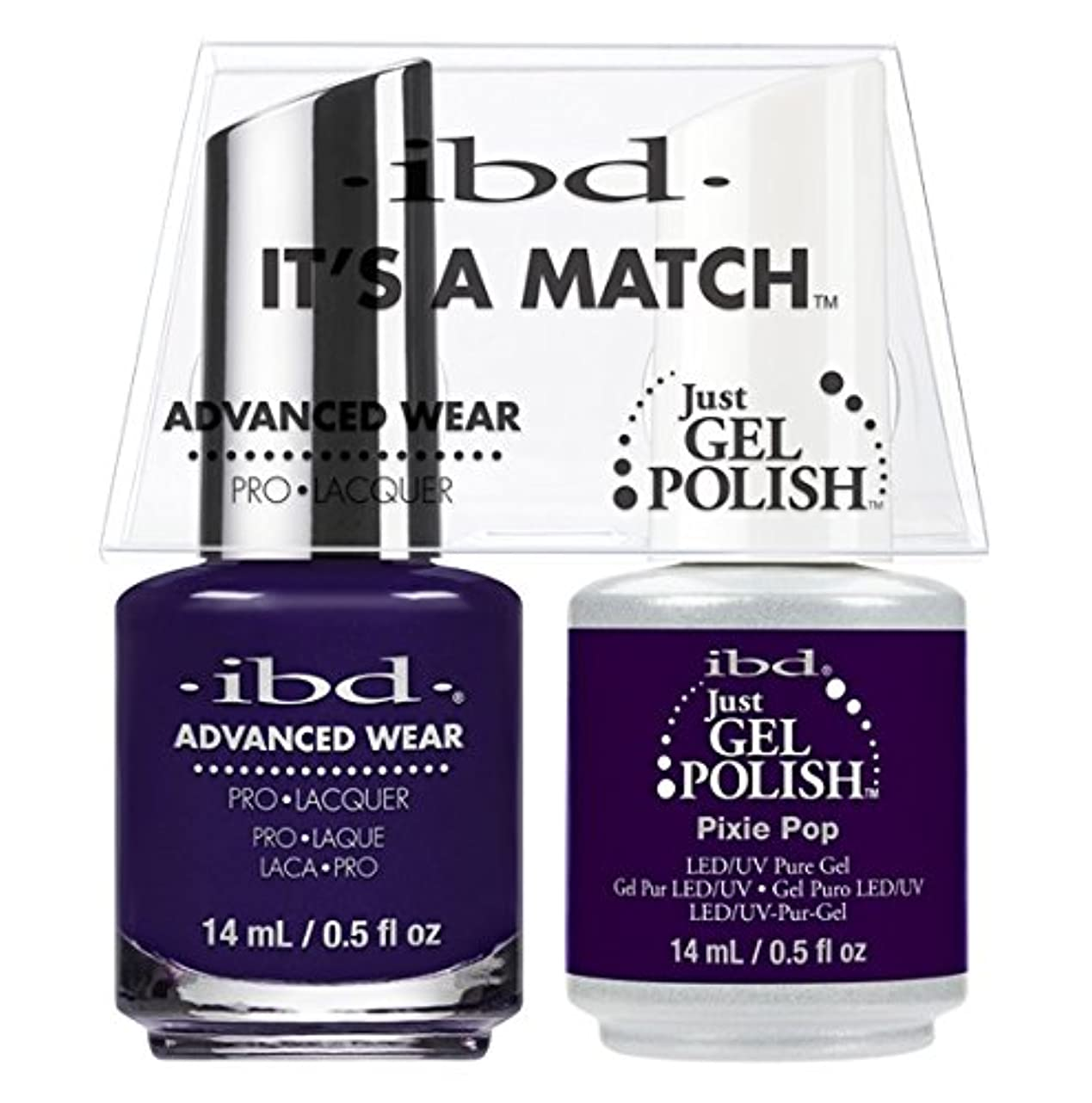 絶縁する要求する誓うibd - It's A Match -Duo Pack- Pixie Pop - 14 mL / 0.5 oz Each