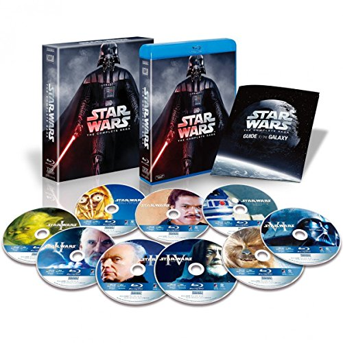 スター・ウォーズ コンプリート・サーガ ブルーレイコレクション(9枚組) (初回生産限定) [Blu-ray]の詳細を見る