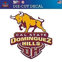Cal State Dominguez Hills Torosダイカットビニールデカールロゴ2
