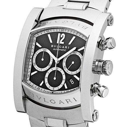 [ブルガリ]BVLGARI 腕時計 アショーマ ブラック文字盤  自動巻 クロノグラフ デイト AA48BSSDCH メンズ 【並行輸入品】