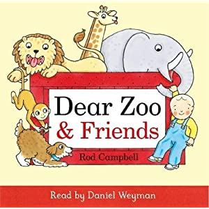Dear Zoo and Friends Audio
