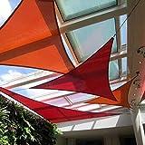 SEASONS 3.6m正三角形 レンガ UVカット シェード セイル