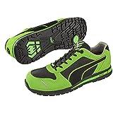 PUMA[プーマ]安全靴【Airtwist】(プーマセーフティ・スニーカータイプ)《012-Airtwist》 (26.5, グリーン・ロー)