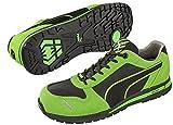 PUMA[プーマ]安全靴【Airtwist】(プーマセーフティ・スニーカータイプ)《012-Airtwist》 (27.0, グリーン・ロー)