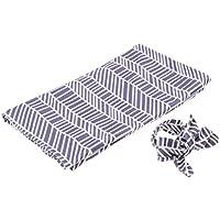 B Blesiya ベビー布団 赤ちゃん寝具 ベビー毛布 赤ちゃんブランケット 寝袋 ヘッドバンド付き 全9種類 - 幾何学