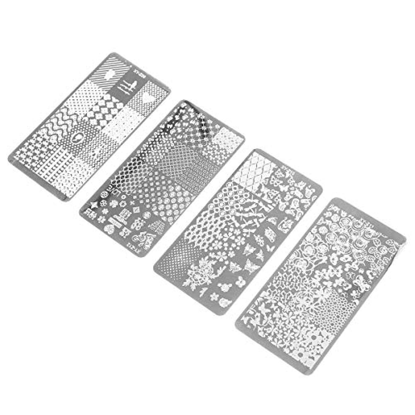 クラブ害パーティーFrcolor ネイルスタンププレート ネイルイメージプレート DIY ネイルアー動物植物 ネイルデザイン用品 ネイルアートツール