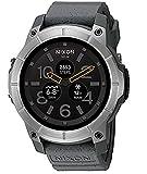 (ニクソン)Nixon 腕時計 メンズ Mission Smartwatch (Color: Grey) 男性 GPS搭載 高度計搭載 活動量計 スマートウォッチ 心拍計[並行輸入品]gellmoll