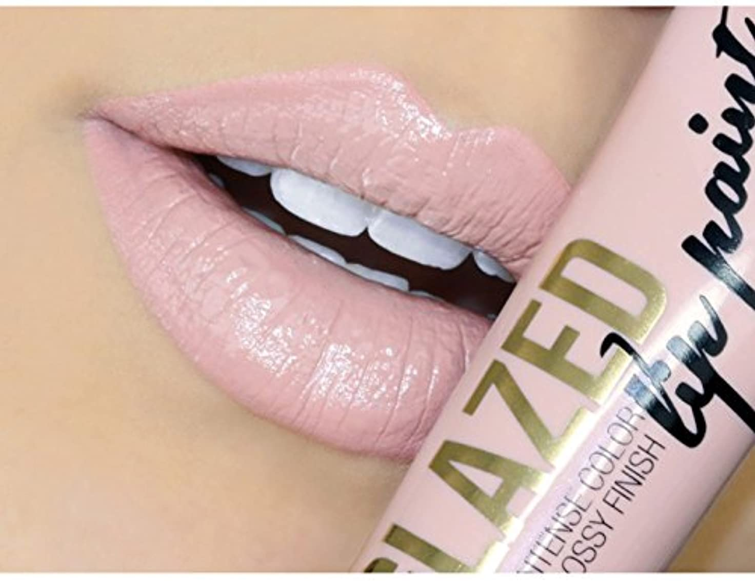 LA GIRL Glazed Lip Paint - Whisper (並行輸入品)