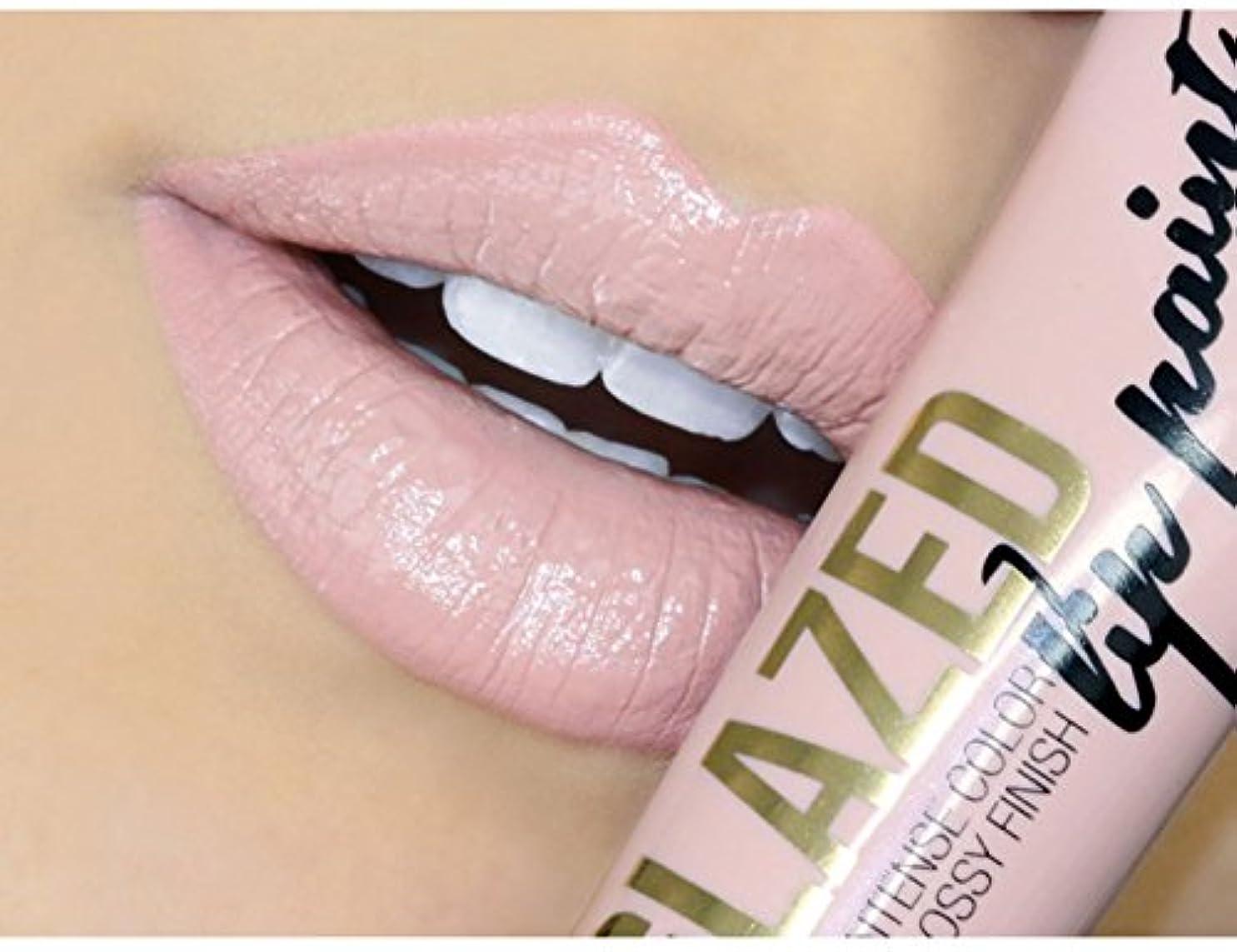 鋭く学んだ無駄にLA GIRL Glazed Lip Paint - Whisper (並行輸入品)