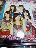 セブンイレブン限定 AKB48 チームA ウエファーチョコ 特製チェンジングカード全10種セット